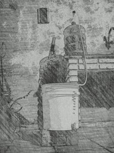 A transferência de recipientes é feita para separar a cerveja da levedura e demais particular sólidas resultantes do processo de fermentação